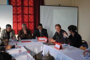"""توقيع اتفاقية شراكة بين جمعية """"أمودو للسياحة المتضامنة"""" بتيزنيت والبرنامج الألماني للتعاون"""