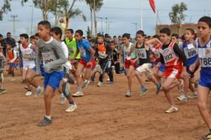 نتائج البطولة الجهوية للعدو الريفي المدرسي بورزازات