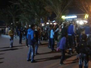 """""""تيزنيت 24"""" تواكب أجواء ليلة الافتتاح الرسمي لعرس المونديال بأكادير"""