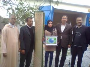 تكريم محمد العرباطي بمير اللفت بعد إحالته على التقاعد