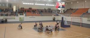 فرض الأشغال الشاقة فرضت على ذوي الإعاقة قبل إجراء المقابلات الرسمية في كرة السلة بتيزنيت