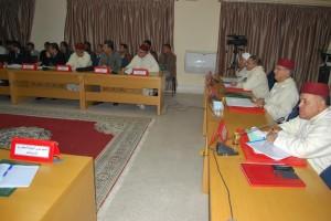 اجتماع حول تفعيل ضابط البناء العام بسيدي إفني