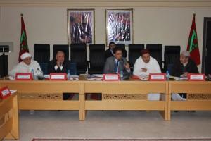 بلاغ صحفي حول أول دورة للمجلس الإقليمي يحضرها عامل إقليم سيدي إفني الجديد