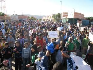 مسيرة احتجاجية ضد تردي الأوضاع الصحية ببويزكارن