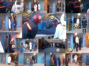 صور اكتشاف جثة مساعد تاجر داخل محل تجاري بمركب القدس بتيزنيت