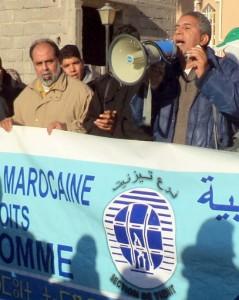 الجمعية المغربية لحقوق الانسان ترفع شكاية الى وزير العدل ضد رجل أمن سابق بتيزنيت