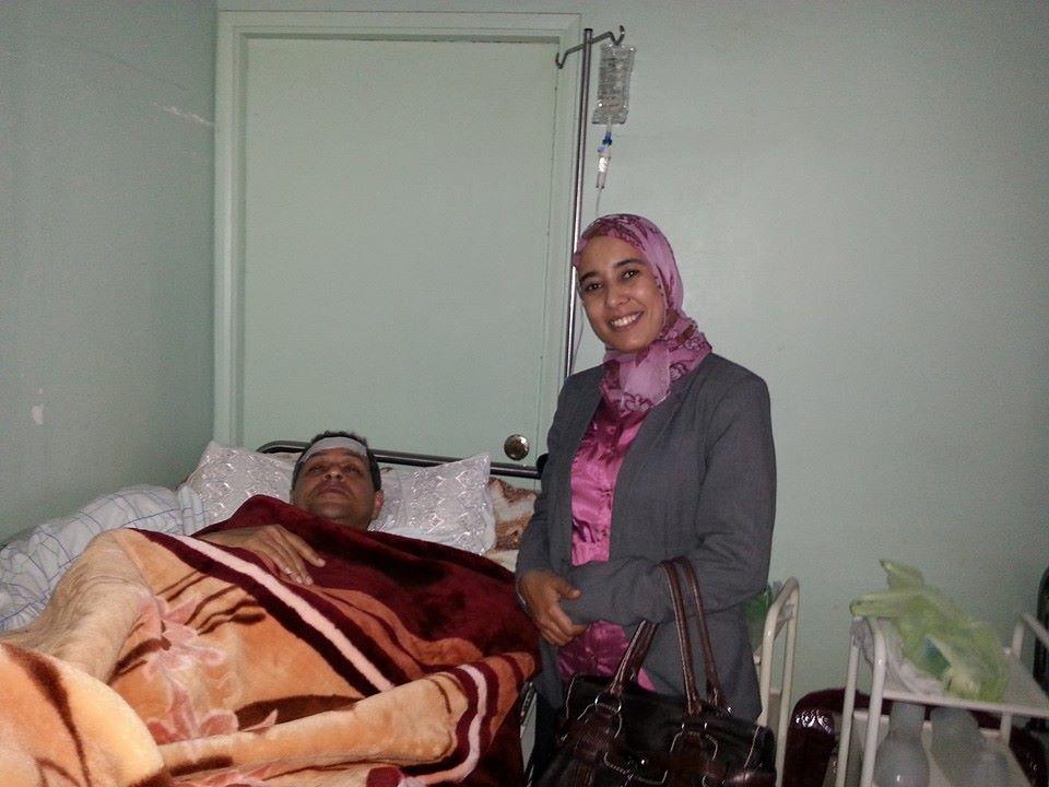 عبد الجبار القسطلاني يجري عملية جراحية مستعجلة بمستشفى سيدي إفني