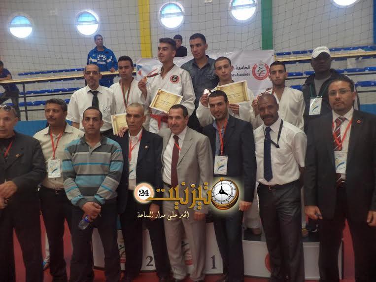 اختتام فعاليات بطولة المغرب للكراطي بتيزنيت