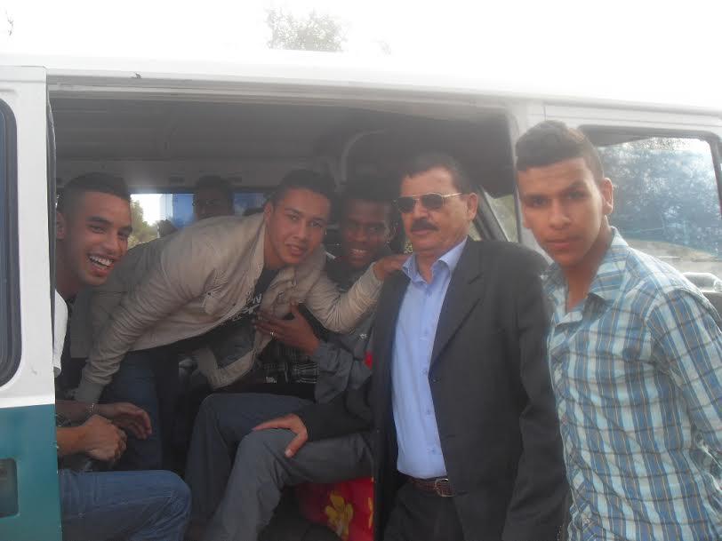 رحلة ترفيهيةللجمعية الوطنية للأعمال الإجتماعية لمتقاعدي القوات المساعدة بتيزنيت
