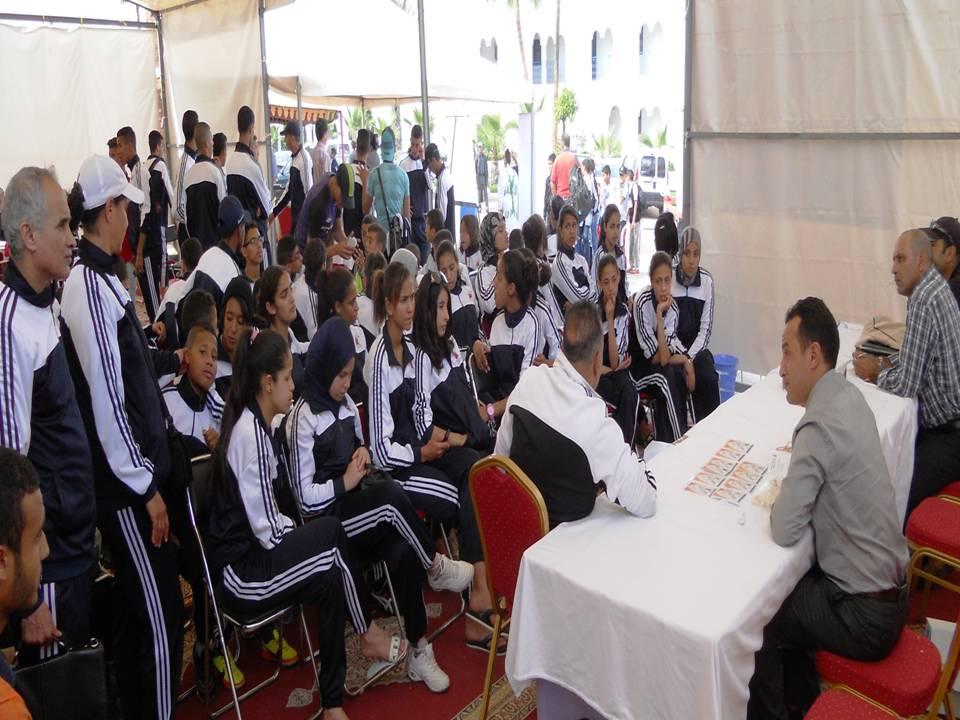 انطلاق البطولة الوطنية المدرسية لكرة القدم وكرة السلة – كأس المدارس – بنيابة إنزكان أيت ملول