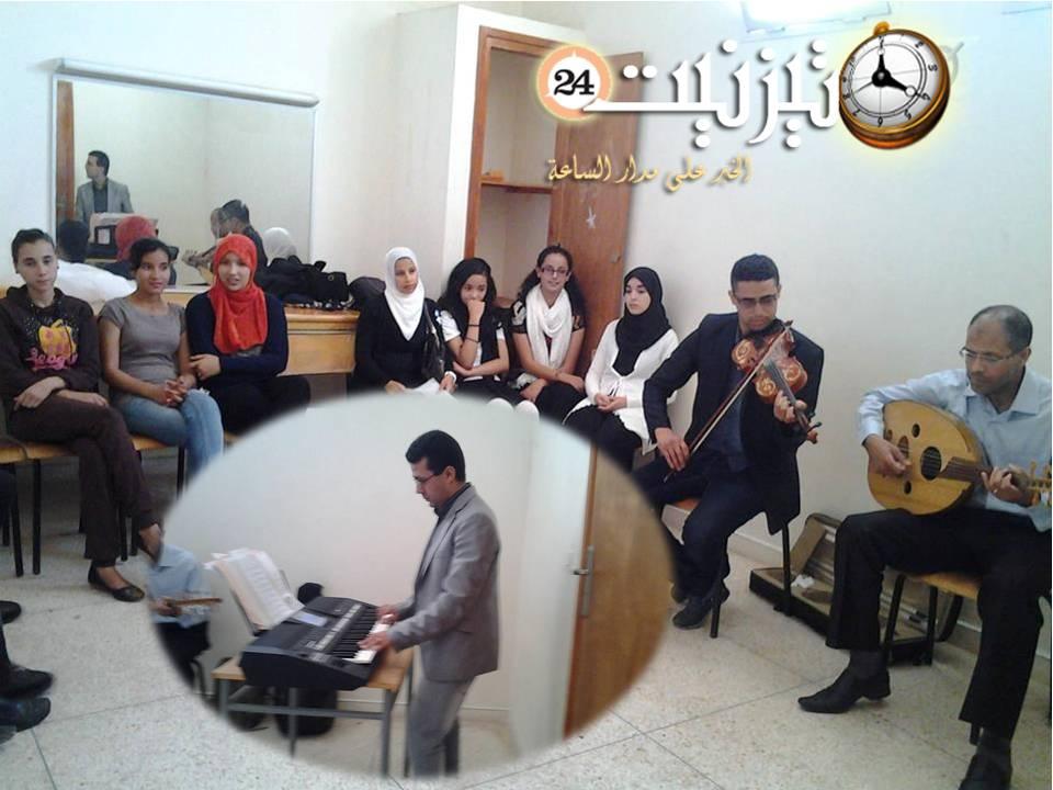 المعهد الموسيقي الحاج بلعيد يكرم الأستاذ يونس السويسي