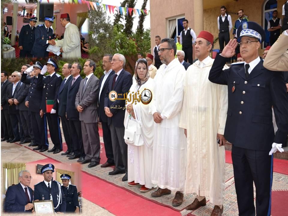 أسرة الأمن الإقليمي بتيزنيت تقدم حصيلتها السنوية وتحتفي بعيدها الوطني