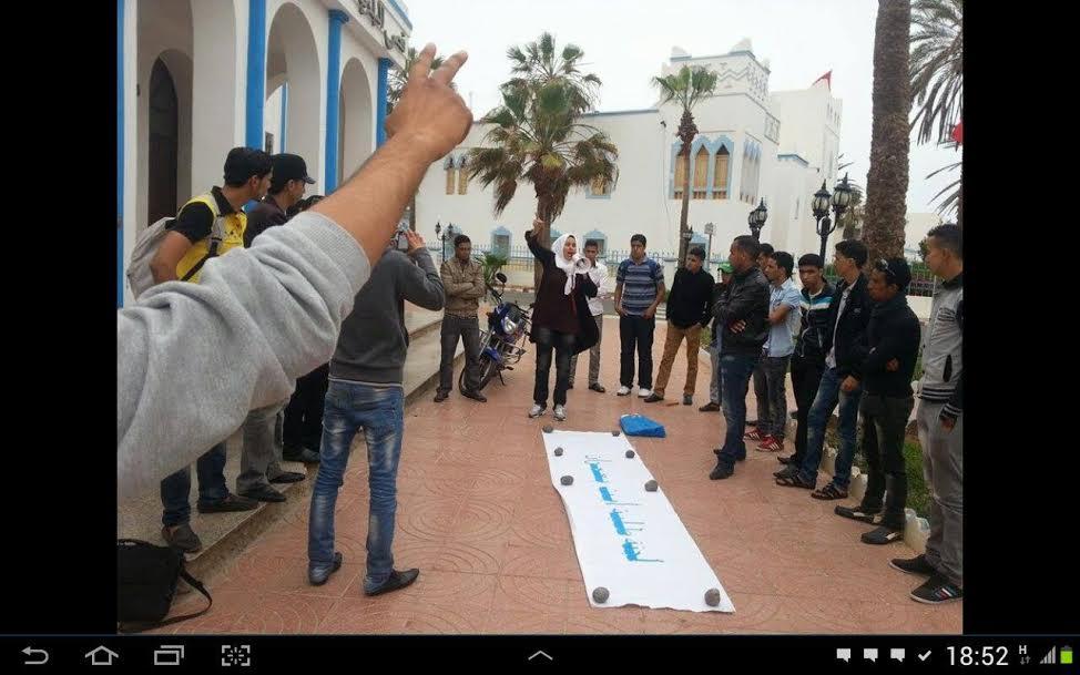 بلدية سيدي افني تسحب الترخيص لنشاط طلابي و الرئيس يوضح