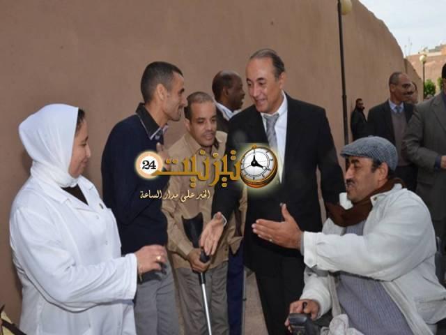 تحدي الإعاقة تمثل مدينة تيزنيت في اسبانيا ومصر