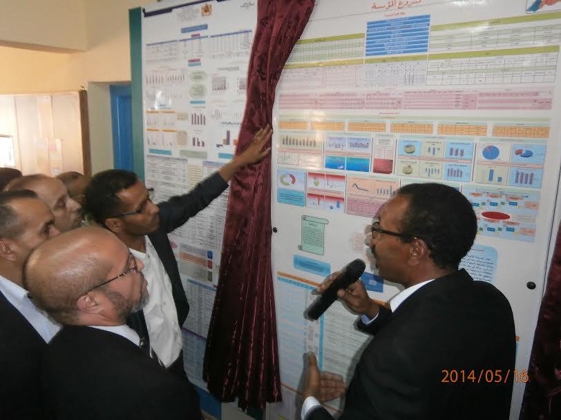 ثانوية المغرب العربي بمستي بسيدي افني تنظم أبوابا مفتوحة