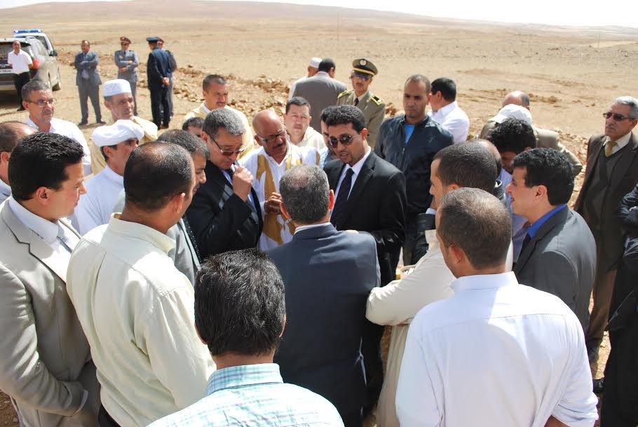 """""""صالح الدحى"""" يواصل زياراته التفقدية لجماعتي تغيرت و بوطروش بدائرة الاخصاص"""