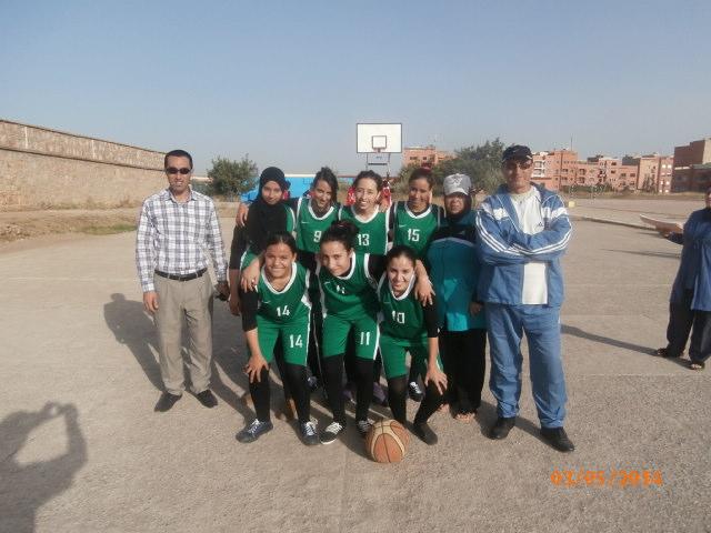تأهل فتيات دار الطالبة بتيزنيت لنهائيات البطولة الوطنية للألعاب الرياضية بإقليم بركان