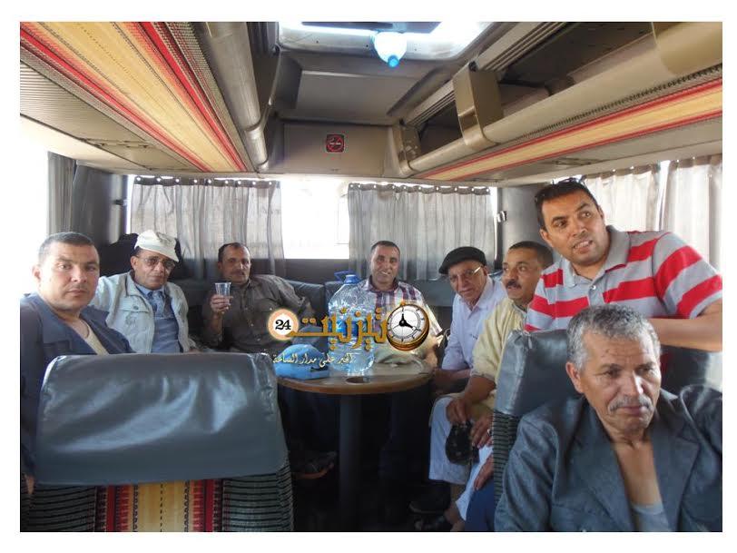 جمعية الاعمال الاجتماعية لموظفي وأعوان بلدية تيزنيت في رحلة استكشافية