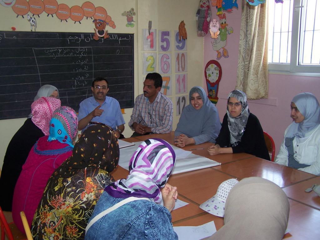دورة تكوينية خاصة لمربيات و مربي التعليم الأولي بمركز للا أمينة لحماية الطفولة