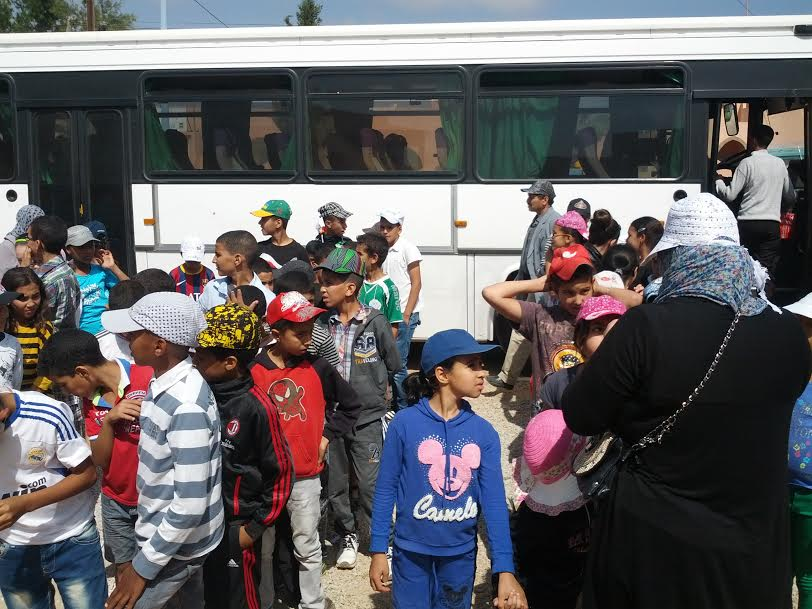 رحلة مدرسية لمدرسة العرفان العمومية إلى جماعة اربعاء الساحل بتيزنيت