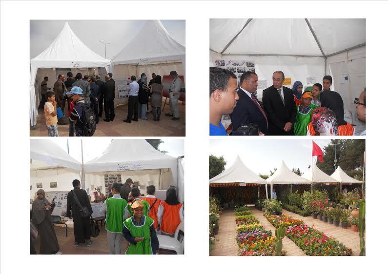 مؤسسات تعليمية تشارك في فعاليات المعرض البيئي لمدينة تيزنيت