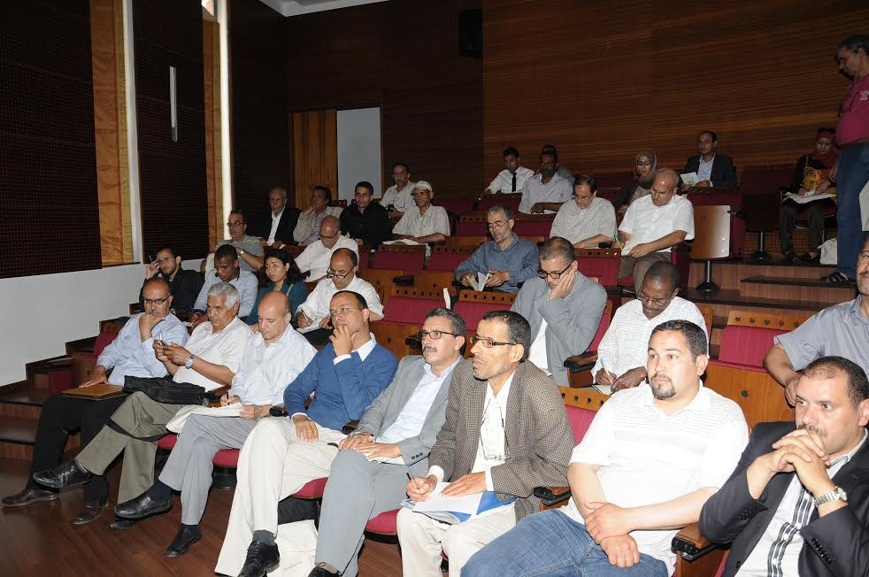 تقرير حول مشاركة الجمعية المغربية لربابنة صيد الرخويات في المنتدى الوطني للجمعيات البيئية