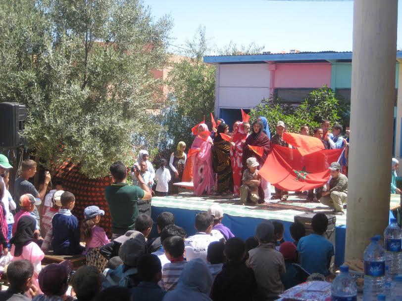 مجموعة مدارس النعمة بأيت رخا تنظم أيامها الثقافية