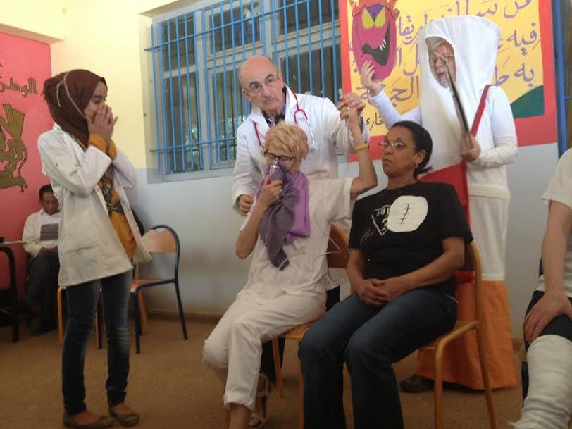 أجانب بثانوية الجزولي لمحاربة التدخين