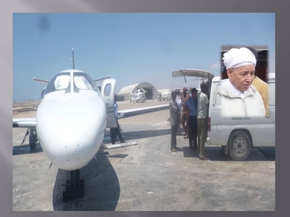 """نقل رجل الأعمال البارز """"الحاج إبراهيم بيشا"""" على متن طائرة خاصة  إلى مستشفى خارج المغرب"""