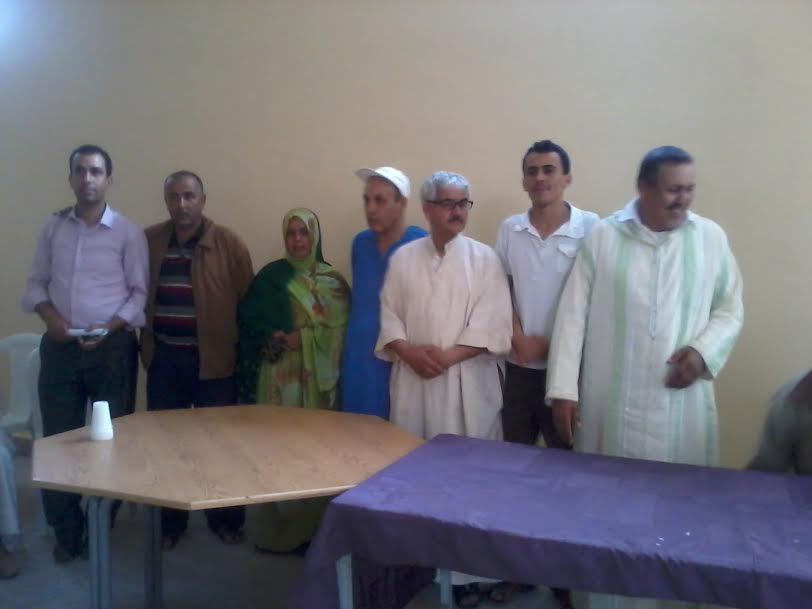 تجديد مكتب جمعية تسيير دار الطالبة تيوغزة