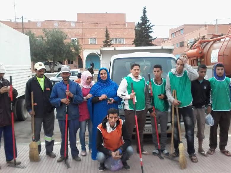 جمعية شباب لخصاص و جمعية تزرزيت تنظمان أنشطة متنوعة ببلدية لخصاص