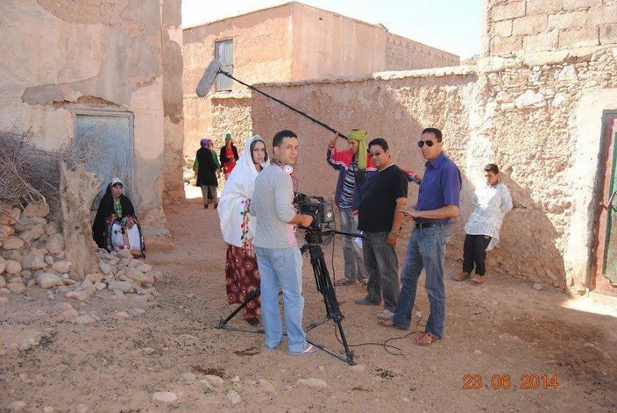 """المخرج التزنيتي """"بحوس"""" يصور فيلمه الجديد """"تموكريست غكنس نتموكريست """" باشتوكة آيت باها"""