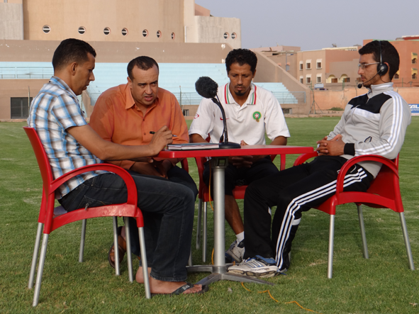 لقاء حصري مع رئيس و مدرب فريق أمل تيزنيت لكرة القدم