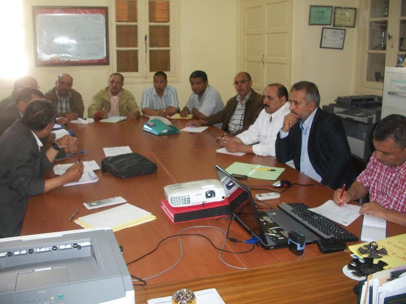 اجتماع إحدى مجموعة الممارسة المهنية تلتئم بإعدادية مولاي رشيد بنيابة تيزنيت