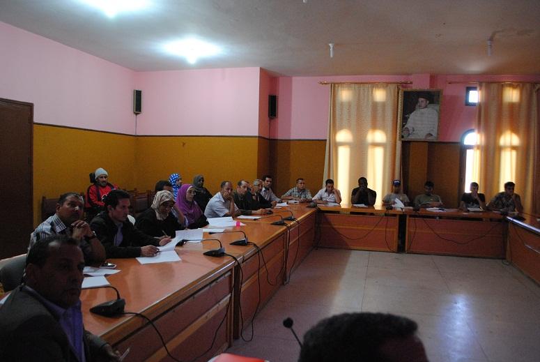 تحيين المخطط الجماعي لبلدية تيزنيت