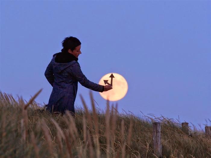 ساعة القمر