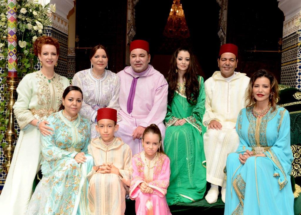 حفل عقد قران الأمير مولاي رشيد