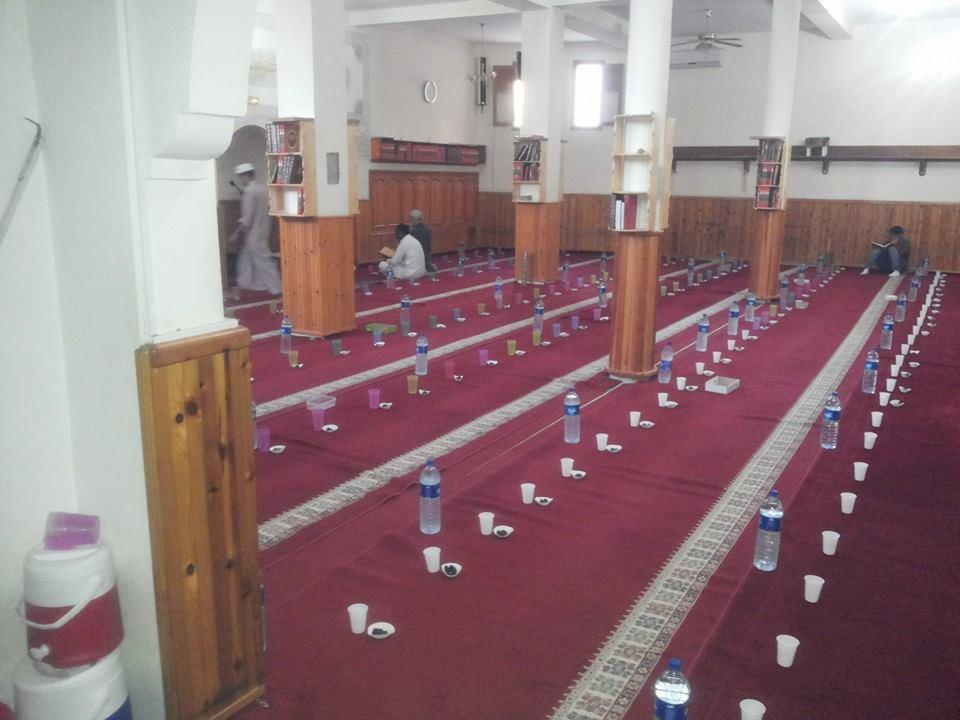 إفطار بمسجد الهداية بتيزنيت