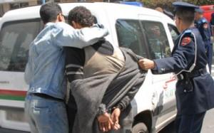 ايت ملول: إلقاء القبض على مروجين للمخدرات بحي تمزارت