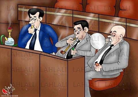 من المضحكات المبكيات بقلم أحمد أمغار