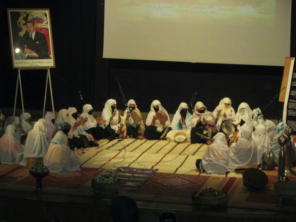 جمعية للارقية علي أوحماد للتراث تنظم ليلة للذكر و السماع الصوفي بتيزنيت