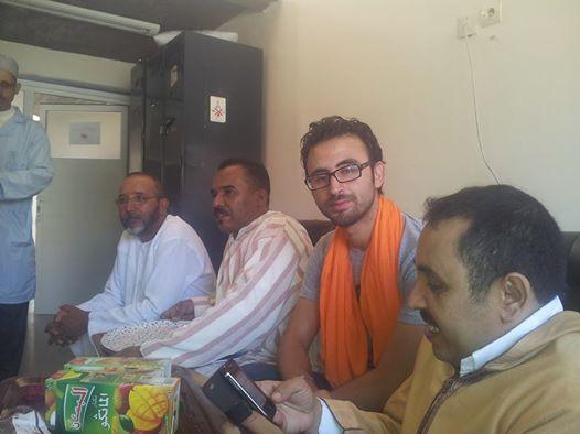 الشبيبة التجمعية بتيزنيت تشارك فرحة العيد مع نزلاء مستشفى الحسن الأول