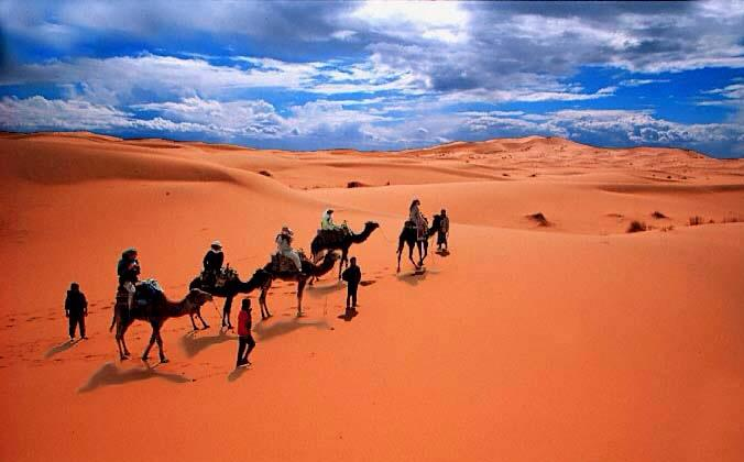 """الصحراء لم تكن يوما """"ارض خلاء"""""""