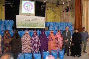 جمعية بلسم لكفالة اليتيم بتيزنيت توزع قفة رمضان وملابس العيد