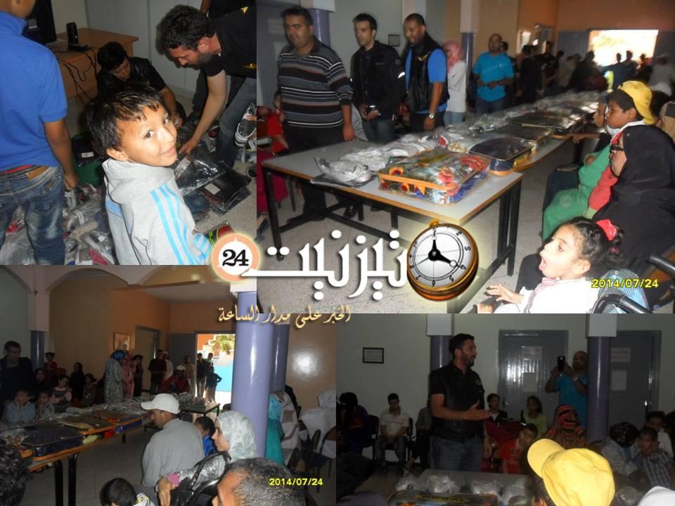حفل توزيع ملابس العيد على الأطفال المعاقين المعوزين والأيتام
