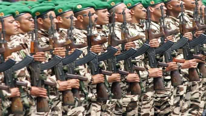 الجيش المغربي يحتل المرتبة السابعة بين أقوى الجيوش العربية