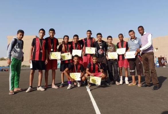 إسدال الستار عن فعاليات النسخة الأولى لدوري الأجيال لكرة القدم المصغرة