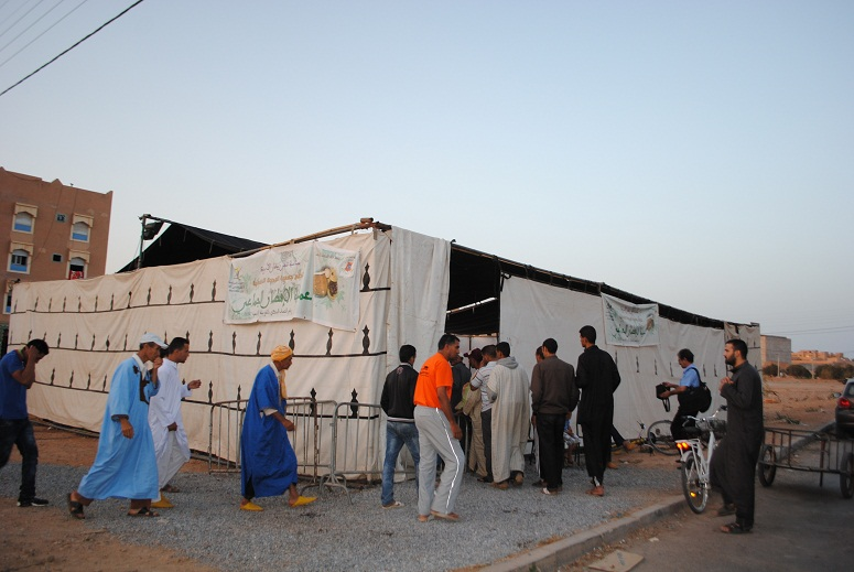 24000 مستفيد من الخيمة الرمضانية لجمعية الوحدة التضامنية بتيزنيت
