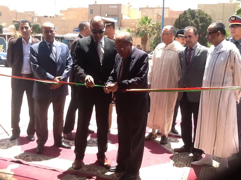 افتتاح معرض القدس الشريف بتيزنيت