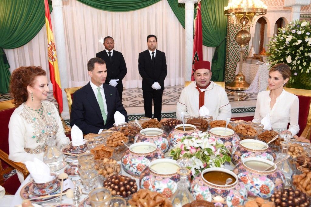 مأدبة إفطار رسمية على شرف العاهل الإسباني الملك فيليبي